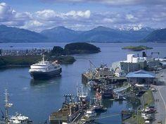 Kodiak Island - the ferry Tustamena