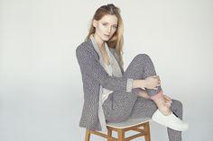 INGA BUCZYNSKA SS'15 campaign. Minimal fashion. Spring-summer, natural look.