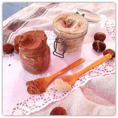 PRALINE FIT DE CASTAÑAS  CON Y SIN CACAO Cacao, Pudding, Sugar, Desserts, Food, Appetizers, Breakfast, Healthy Sweets, Healthy Recipes