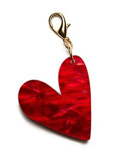 Edie Parker - Heart Charm