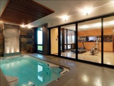 """Would love to have the """"Endless Pool"""" next to our home gym. It would even be nice in a sun room."""