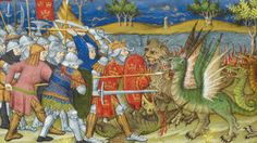The exploits of Alexander the Great, made all the more fabulous for an illuminated volume in Henry VIII's royal library.