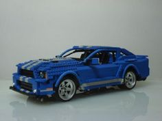Ford Mustang 2010 Shelby GT500: A LEGO® creation by Henry Shepard : MOCpages.com