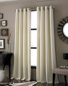 I have ones similar!!! Me and Alex get the most compliments! Guest bedroom curtains