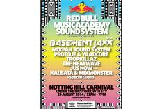 Redbull RBMA Sound System for Notting Hill Carnival 2014
