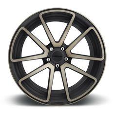 Rotiform SPF Wheels Black Machined 18x8.5 | 5x112 | ET35