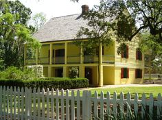 Olivier Plantation at Longfellow-Evangeline State Park in St. Martinville, a short drive from Lafayette.