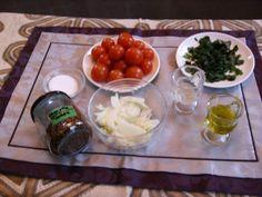 Ensalada Chilena (Tomatensalat auf chilenische Art) Chili, Pudding, Chicken, Meat, Desserts, Food, Health, Chilean Food, Chilean Recipes