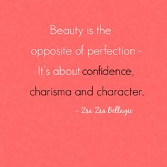 Outfituation � Zsa Zsa Bellagio quote