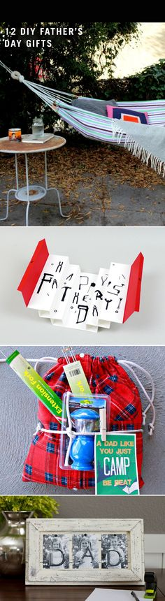 Why not DIY dad's Father's Day card this year? Check out 12 unique gifts you and the kids can craft!