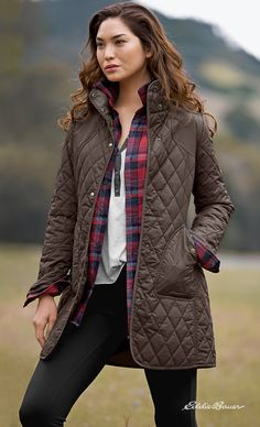 Shop women's year-round field coat in Women's at Eddie Bauer. Fall Winter Outfits, Winter Wear, Autumn Winter Fashion, Look Fashion, Fashion Outfits, Womens Fashion, Fashion Fall, Vetements Clothing, Dress To Impress