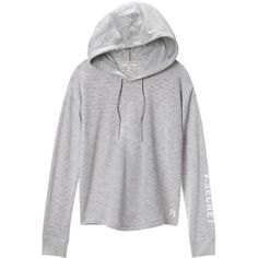 Shirttail Hoodie - Victoria's Secret ($62) ❤ liked on Polyvore featuring tops, hoodies, sweatshirts, sweaters, hoodie top, hooded pullover, victoria secret hoodie, hooded sweatshirt and victoria secret tops
