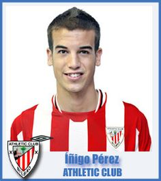Iñigo Pérez Athletic Club de Bilbao Midfield