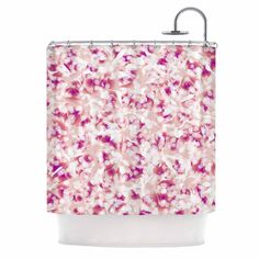 Kess InHouse Angelo Cerantola 'Rosebreath' Shower Curtain