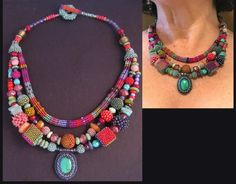 Miranda necklace by Julie Powell