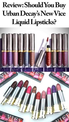 Sounds familiar, doesn't it? Especially if you're a beauty lover or Urban Decay loyalist, you've witnessed, first-hand, the mania surrounding their Vice Lipstick line of 100 all-inclusive shades with six different finishes that were introduced early last year.#MyNewVice#obsessory #myobsession #trend #fashion #luxuryfashion #blogs #blogger #fashionblogger #trendsetter