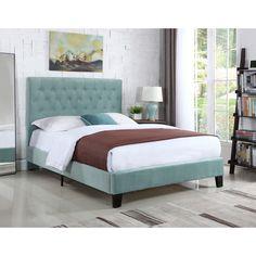 Emerald Home Amelia Upholstered Platform Bed - B128-08HBFBR-04