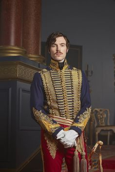 From ITV VICTORIA Embargoed until 16.30 11th August 2016 Pictured: TOM HUGHES as…