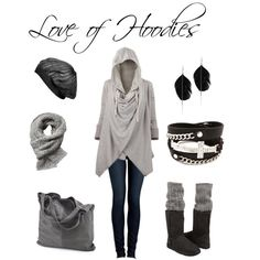 """Love of Hoodies"" by jess31rabbit on Polyvore"