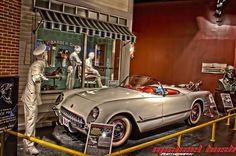 Corvette Museum and Assembly Plant in Bowling Green Kentucky