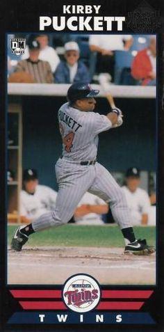 Kirby Puckett Minnesota Twins, Baseball Cards, Sports, Hs Sports, Sport
