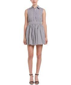FEW MODA FEW MODA BOW BACK A-LINE DRESS. #fewmoda #cloth #