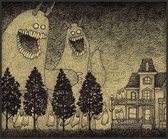 post-it monster by john kenn