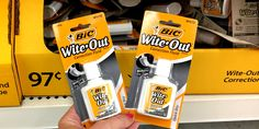 livingrichwithcoupons for BIC Coupon and find out how you can score these for a great price and all the latest printable coupons. Wite Out, Cell Phone App, Correction Fluid, Child Of Mine Carters, Funko Pop Avengers, Walmart Shoppers, Living Room Update, Extreme Couponing, How To Get Rich