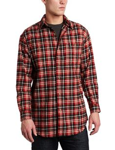 Carhartt Men's Midweight Plaid Flannel Shirt $25.39 - $50.30