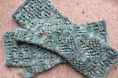 Looking for your next project? You're going to love  Snow on Cedars Mitt  by designer Anne Hanson.