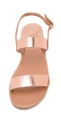 Ancient Greek Sandals Clio Metallic Sandals | SHOPBOP