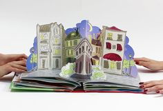 Bonduelle. Pop-up book on Behance