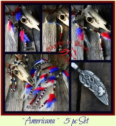 'Americana' 5pc Feathers n' Flair Parade Set-