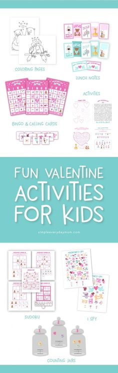 Valentines Day I Spy Counting Activity   Spy, Free printable and ...