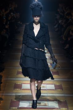 tattered and raw skirt  Lanvin | Fall 2014 Ready-to-Wear Collection | Style.com