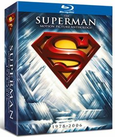 Christopher Reeve & Brandon Routh - The Superman Motion Picture Anthology Superman Poster, Superman Movies, Superman Superman, Richard Lester, Richard Donner, Bryan Singer, Brandon Routh, Christopher Reeve, Blu Ray Movies