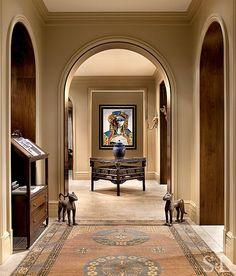 Antique Samarkand Runner from Doris Leslie Blau Room Designed by Suzanne Lovell