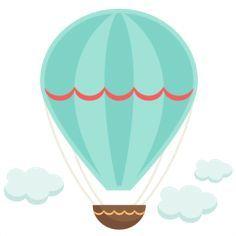 BABY SHOWER~ BLUE AIR BALLOON