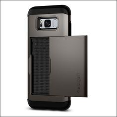 #Spigen Slim Armor CS Case for Samsung Galaxy S8 - Searching for best #GalaxyS8 #WalletCase? Here we have created a list of protective wallet #cases for Samsung Galaxy S8 from amazon.  https://www.thecrazybuyers.com/best-samsung-galaxy-s8-wallet-cases/
