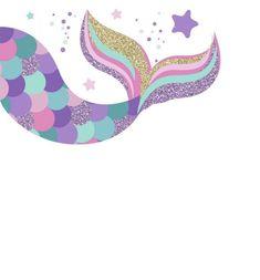 save the data Mermaid Room, Mermaid Diy, Baby Mermaid, Mermaid Theme Birthday, Unicorn Birthday, Girl Birthday, Little Mermaid Parties, The Little Mermaid, Mermaid Wallpapers