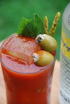 Every type of bloody Mary you can think of...
