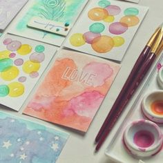 I've been combining watercolor and project life and having a blast. Come read about it on my blog, link in profile. #watercolor #watercolor...