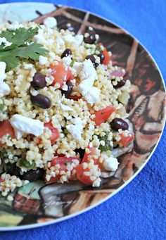 Mexican Millet Salad - Cooking with Books