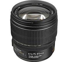 Canon efs lens. Cheap street landscape photography option. Canon EF-S 15-85mm f/3.5-5.6 IS USM Lens Bulk Pack - Cameras Direct AUSTRALIA