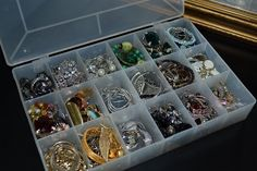 Jewelry/Earring Organization @ParticularlyPracticallyPretty