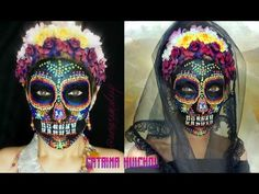 @auroramakeup -CATRINA HUICHOL tutorial - YouTube