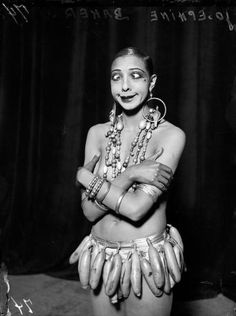 Josephine Baker! The Original. Quirky, Classy and Misunderstood. Love her!