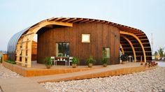 Zweedse studenten ontwerpen indrukwekkend huis aangedreven door zonne-energie