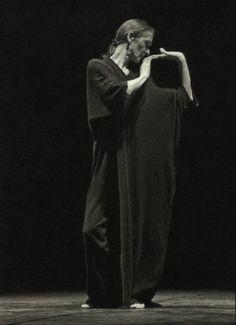 Yohji Yamamoto|     yohji yamamoto for pina bausch, 25th anniversary of the tanztheater wuppertal foundation, 1998