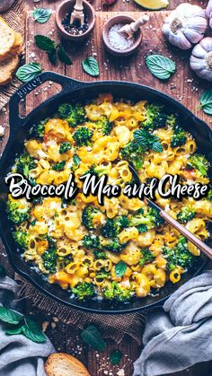 The Best Baked Vegan Mac and Cheese with Broccoli - a simple macaroni pasta bake recipe with dairy-free easy cheese sauce (nut-free, gluten-free) Vegan Mac And Cheese, Broccoli Mac And Cheese Recipe, Broccoli Cheese Casserole Easy, Cheesy Mac And Cheese, Vegan Casserole, Vegan Cheese Sauce, Mac Cheese Recipes, Mac And Cheese Homemade, Dairy Free Cheese